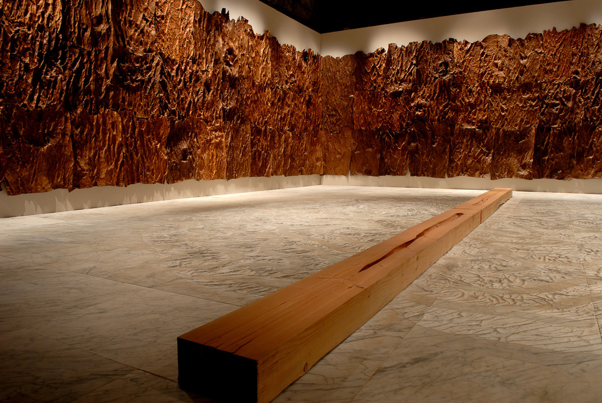 art installation by giuseppe penone 1