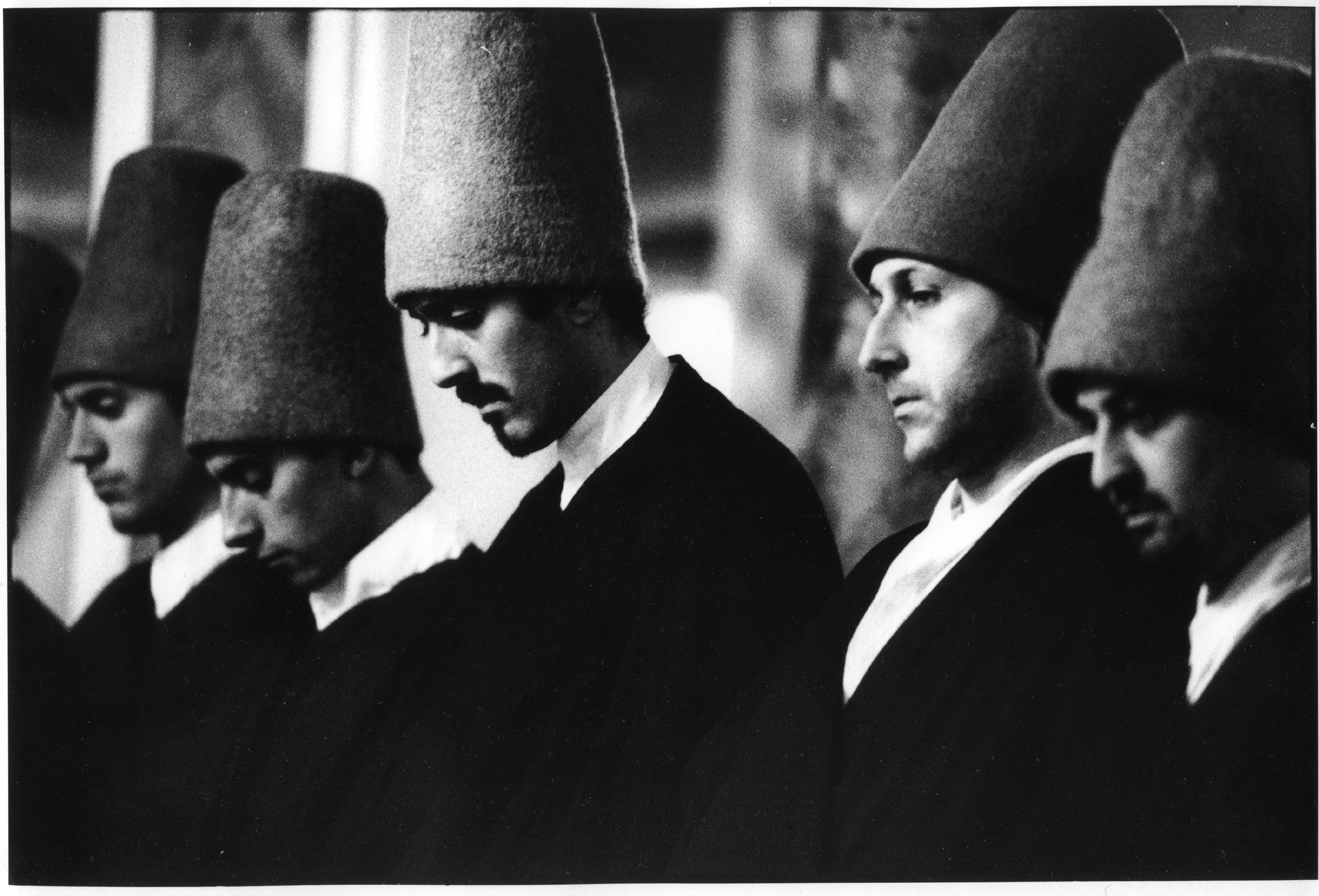 before the sema(mevlevi dervishes