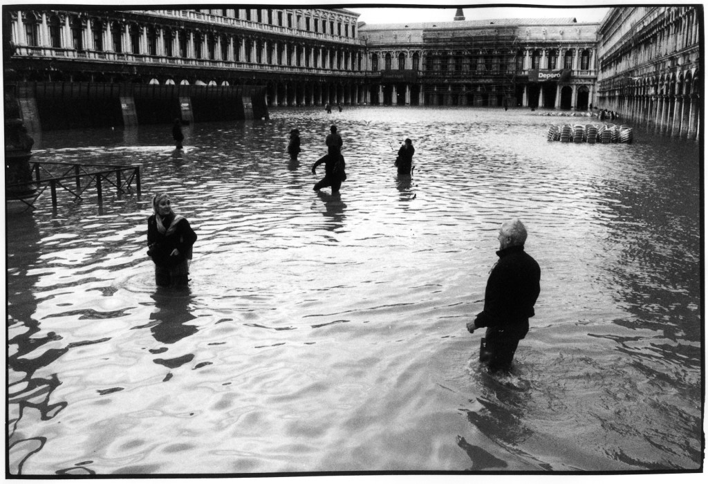 exceptional high tide in San Marco square